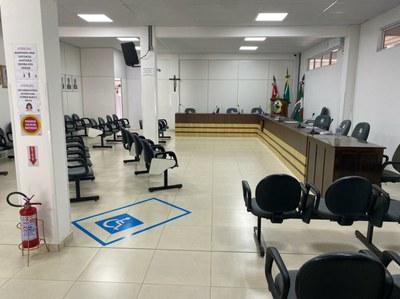 Plenário Câmara de Vereadores