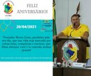 Aniversário do Vereador Nereu Lima 20/04/2021